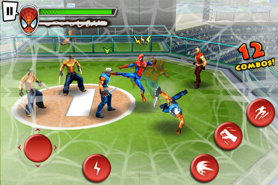 Spider-Man™: Total Mayhem iPhone, iPad Screenshot