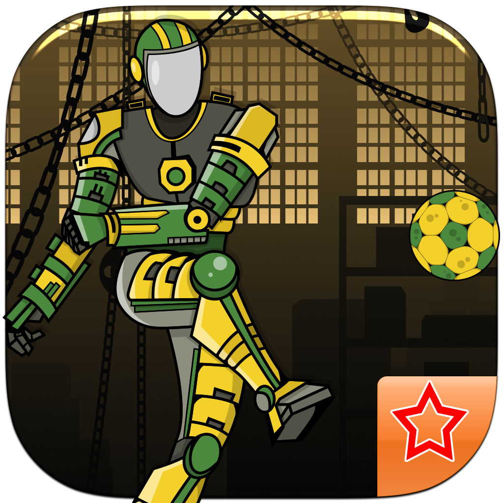 Transforming autobot football cage rage - A prime soccer goalies cup dream in the pitfall legends edition PREMIUM by The Other Games